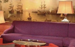 5.「洋上の美術館」と称されるモダンクラシックな船内